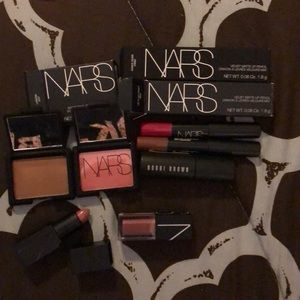 7 pc NARS Cosmetics LIP, Eye & Face Set